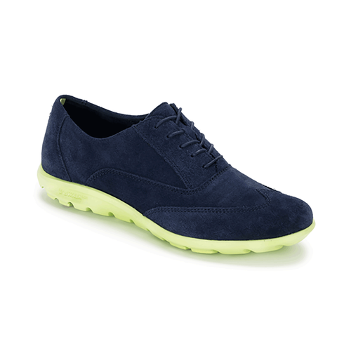 truWALKzero Wingtip Oxford Women's Walking Shoes in Navy